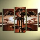 Top Sell Tree Painting!Handpainted Landscape Oil Impressionist Art Canvas Painting (+Frame) LA5-008