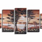Classical Twilight_Handpainted Landscape Oil Impressionist Art Canvas Painting (+Frame) LA5-009