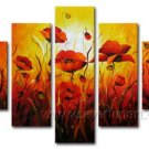 Gorgeous Oil Floral Painting on Canvas Very Pretty Flowers (+Frame) FL5-002