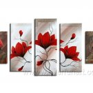 Gorgeous Oil Floral Painting on Canvas Very Pretty Flowers (+Frame) FL5-005