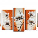 Gorgeous Oil Floral Painting on Canvas Very Pretty Flowers (+Frame) FL5-006