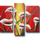 Gorgeous Oil Floral Painting on Canvas Very Pretty Flowers (+Frame) FL5-009