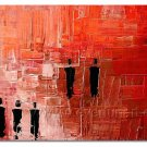 Huge Mordern Abstract Figurative Wall Decor Art Canvas Oil Painting (+ Frame) FI-023