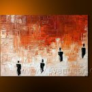 Huge Mordern Abstract Figurative Wall Decor Art Canvas Oil Painting (+ Frame) FI-024