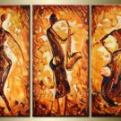 Huge Mordern Abstract Figurative Wall Decor Art Canvas Oil Painting (+ Frame) FI-067