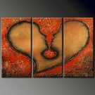 Huge Mordern Abstract Figurative Wall Decor Art Canvas Oil Painting (+ Frame) FI-069