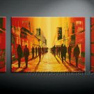 Huge Mordern Abstract Figurative Wall Decor Art Canvas Oil Painting (+ Frame) FI-070