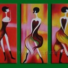 Huge Mordern Abstract Figurative Wall Decor Art Canvas Oil Painting (+ Frame) FI-072