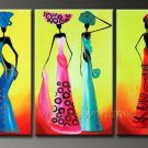 Huge Mordern Abstract Figurative Wall Decor Art Canvas Oil Painting (+ Frame) FI-075