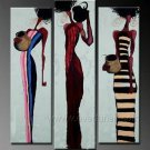 Huge Mordern Abstract Figurative Wall Decor Art Canvas Oil Painting (+ Frame) FI-076
