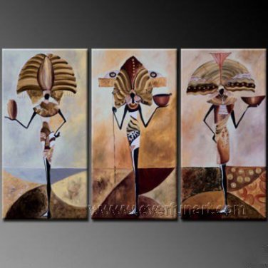 Huge Mordern Abstract Figurative Wall Decor Art Canvas Oil Painting (+ Frame) FI-079