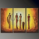 Huge Mordern Abstract Figurative Wall Decor Art Canvas Oil Painting (+ Frame) FI-080