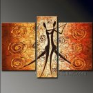 Huge Mordern Abstract Figurative Wall Decor Art Canvas Oil Painting (+ Frame) FI-082