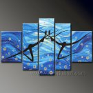 Huge Mordern Abstract Figurative Wall Decor Art Canvas Oil Painting (+ Frame) FI-108