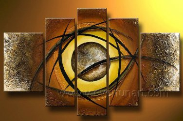 Huge Mordern Abstract Figurative Wall Decor Art Canvas Oil Painting (+ Frame) FI-110