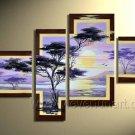 Canvas Oil Painting Framed African Art (+ Frame) AR-011