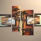 Canvas Oil Painting Framed African Art (+ Frame) AR-049