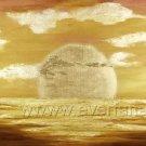 Classical Ocean Sight_Framed Oil on Canvas Seascape Painting SE-004