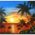 Fine Art Of Nice Seascape _Framed Oil on Canvas Seascape Painting SE-014