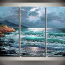 Classical Painting Of Seascape _Framed Oil on Canvas Seascape Painting SE-017