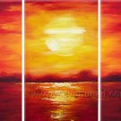 Evening Shadows _Framed Oil on Canvas Seascape Painting SE-031