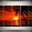 Break Though_Framed Oil on Canvas Seascape Painting SE-097