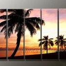 Popular Big Blue Ocean Art _Framed Oil on Canvas Seascape Painting SE-100