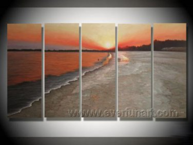Popular Seascape Painting!Framed Oil on Canvas Seascape Painting SE-175