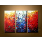 Popular Colorful Abstract Oil Painting On Canvas Wall Art Framed  XD3-206