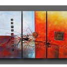2013 New Design Abstract Oil Painting Canvas Art Wall Pictures (+Framed)  XD3-211