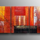 Modern Abstract Flower Oil Painting On Canvas Wall Pictures Framed  XD3-219