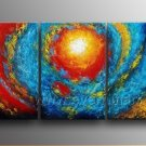 Popular Bright Space Abstract Oil Painting On Canvas With Frame XD3-227