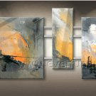 Contemporary Attractive Abstract Oil Painting On Canvas Wall Pictures Framed XD3-254