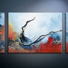 Modern Abstract Perfect Oil Painting On Canvas Fine Art Framed XD3-261