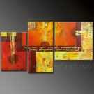 Top Sell Cheap Modern Absrtact Oil Painting On Canvas Fine Art Framed XD3-273