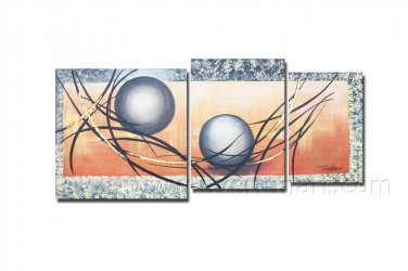 Classical Beautiful Abstract Modern Oil Painting On Canvas With Frame Wall Art XD3-274