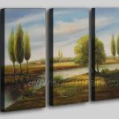 Country Sight Beautiful Decor Oil Painting On Canvas Wall Art Fremed LA3-127