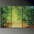 Country Road,Bring Me Home. Landscape Oil Painting On Canvas Wall Art Fremed LA3-129