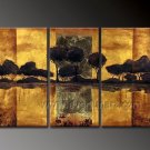Popular Hot Sell Landscape Oil Painting On Canvas Wall Art Fremed  LA3-140