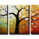 New Style Blosson Tree Landscape Oil Painting On Canvas Wall Decor Fine Art LA3-142