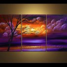 Landscape Oil Painting Winter Tree Hot Sales Wall Decor Fine Art LA3-150