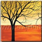 Great Yellow Autumn Landscape Oil Painting On Canvas Wall Decor Fine Art LA3-184