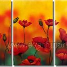Fashion Design 2013 New Flower Painting Canvas Art Home Decoration  FL3-144