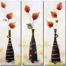 New Design Abstract Floral Oil Painting Canvas Art Wall Decor FL3-157