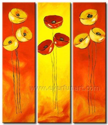 Classical Flower Art Painting Modern Group Flower Oil Painting FL3-159