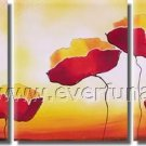 Handmade Contemporary Wall Art Floral Painting Flower Oil CanvasFL3-183