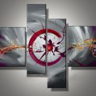 Modern Handmade Hug Professional Decorative Abstract Flower Oil Painting On Canvas  XD4-195
