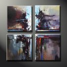 Attractive Handmade Modern Professional Wall Decor Art Abstract Huge Oil Painting On Canvas XD4-227