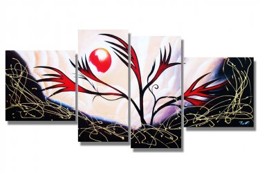 Hand -Painted Large Modern Oil Painting On Canvas for Wall Decoration XD4-240