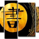 Guaranteed Hand-painted Group Modern Abstract Oil Painting on Canvas for Wall Decor XD4-234